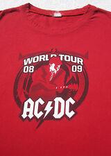 ACDC 2008-09 Tour SMALL tank top T-SHIRT sleeveless concert