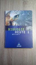Biologie Heute entdecken 2-Gymnasium Schüler Lehr Arbeits Buch-Schroedel-gebunde
