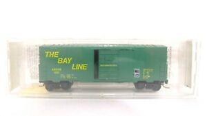 Kadee Micro Trains N The Bay Line 40' Std Single Door Box Car w/o Roofwalk 24210