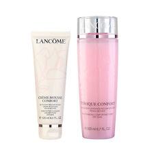 LANCOME Comforting Cleanser Foam+ Re-Hydrating Comforting Toner (Dry Skin) #b101