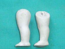 Puppenstubenpuppenbeine Bisquitporz. 4,9 cm/ doll house doll legs bisque 4.9 cm