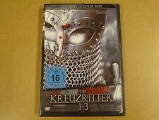 2-DISC DVD / DIE KREUZRITTER 1-3 ( FRANCO NERO, ALESSANDRO GASSMAN... )