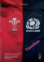 Wales v Scotland SIX NATIONS RUGBY UNION PROGRAMME 31/10/2020! READY TO POST!!!