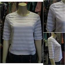 River Island Crew Neck Striped Tops & Shirts for Women