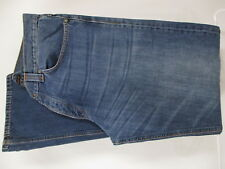 Nudie Regular Alf Mens Blue Button Fly Jeans Size 38 38x36