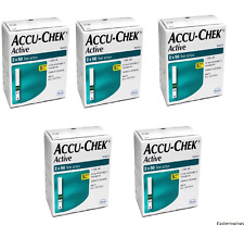 Accu Chek Active 300 Test Strips Pack of 3 Boxes Expiry Jan 2019 to Nov 2019