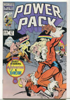 Power Pack #27 NM- Guest Wolverine & X-Factor Marvel Comics CBX2A