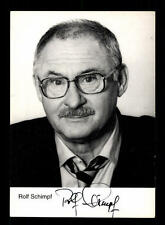 Rolf Schimpf Rüdel Autogrammkarte Original Signiert # BC 81945