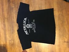 Metallica Whiskey In The Jar T Shirt Sz XL Tour Concert Metal Rock Tee