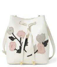 77e7d21b4a Ralph Lauren Mini Debby II Floral Drawstring Bag (Vanilla Multi White)