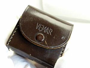 Vemar 52mm Close Up Macro Camera Lens Kit Set +1 +2 +3 With Hard Case Chrome Rim