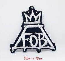 Fall out Boy Patrick Stump cutout Embroidered Iron/sew on Patch #1164