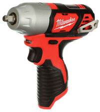 "Milwaukee Impact Wrench M12V 3/8""Anvil Cordless Drill Power TOOL ONLY 2463-20"