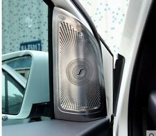Stainless Steel Car Interior Front Speaker Cover For Mercedes Benz B Class