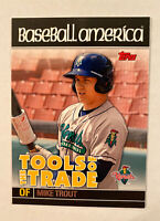 2010 Topps Pro Debut Mike Trout Baseball America Rookie Card Tools of the Trade