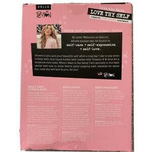 HALLU by Peyton Love Thy Self, Complete Pink Carpet Treatment Bath Set