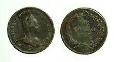 pcc1647_20)  Maria Teresa (1740-1780) 1 Soldo 1777 S Mir 462