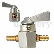 "1/4"" Motorcycle Scooter ATV Inline Petrol On-Off Gas Fuel Tap Shut Petcock Valve"