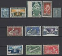 AV142320/ FRANCE – Y&T # 183 / 185 - 209 - 210 / 215 - 161 MINT MNH / MH – 175 $