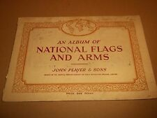 """JOHN PLAYER & SONS """" AN ALBUM OF NATIONAL FLAGS AND ARMS """" 48 CARDS 1936"""