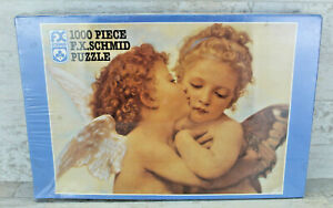 FX Schmid Cupid's Kiss 1000 Piece Jigsaw Puzzle 20x27 No. 90207 - Angels