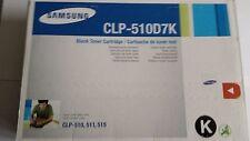 Original Samsung CLP510D7K Toner CLP 510 515 511 CLP-510D7K  7.000S. BLACK NEU