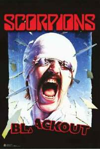 Scorpions Blackout Poster 24in x 36in