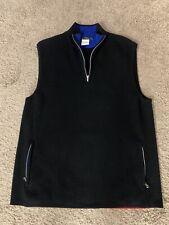 RLX Ralph Lauren black wool technical vest M Golf Hiking