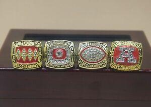 4 Pcs 1990 1991 1992 1993 Buffalo Bills Championship Ring !!!!