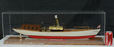 "33 1/2"" Live Steam Wood Boat Model of the Berwyn"