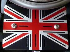 Triumph Scrambler Thruxton Bonneville Reglerabdeckung Regler Union Jack Alu.