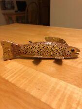 New listing Floyd Osga Brown Trout Ice Spearing Fish Decoy