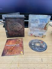 PLAYSTATION 3 PS3 GAME UNCHARTED 2 II AMONG THIEVES LIMITED STEELBOOK EDITION