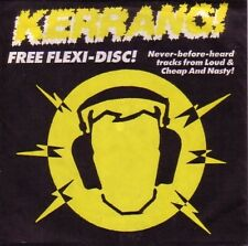 "7"" FLEXI UK KERRANG ! LOUD ""God Is Dead"" CHEAP NASTY ""International Action"" 1991"