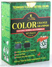 Deity Hair Color Change Shampoo Natural Herbal 2 - in -1 Formula 6 pack (1 Box)