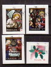 CANADA 2011 CHRISTMAS SET OF 4 FINE USED..