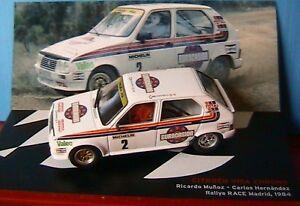 CITROEN VISA CHRONO #2 MUNOZ HERNANDEZ RALLYE RACE 1984 1/43 IXO  EUROCASION