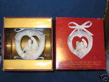 LLADRO OUR FIRST CHRISTMAS ORNAMENT MILLENIUM 2000 NEW