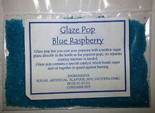 Flavouring for popcorn during cooking ...Blue Raspberry flavour