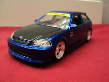Jada 1997 Honda Civic  Type-R  1:24 Scale new no box blue exterior 2019 release