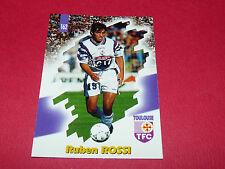 PANINI FOOTBALL CARD 98 1997-1998 RUBEN ROSSI TOULOUSE FC Téfécé TFC STADIUM