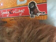 Spooky Village Lion PET / DOG HALLOWEEN COSTUME - Medium NWT