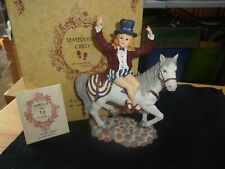 """Boyds Yesterdays' Child """"Claire Marie on Starr Circus Dream"""" #3569 Figurine"""