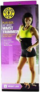 "Gold's Gym 10"" WAIST TRIMMER Belt 60"" Length Exercise Fat Burner Slimming *NEW*"