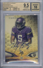 2014 Platinum Superfractor Teddy Bridgewater Autograph RC #1/1  BGS GEM MINT 9.5