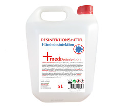 Händ-Desinfektionsmittel Kanister 5 Liter   79% Ethanol Aktionspreis Glycerin