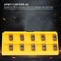 10PCS CNC Carbide Inserts Blades APMT1135PDER-H2 For CNC Lathe Turning Tool Set
