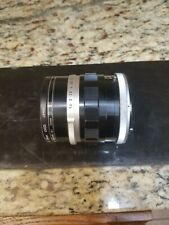 Early Canon FL 1.4/50mm Camera Lens Sn 177364 with 2 Filters and in Case