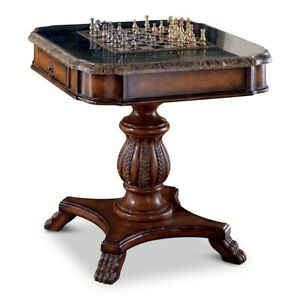 Butler Fossil Stone Game Table, Heritage - 506070