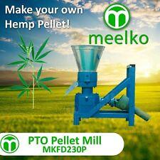 """Pellet Mill Pto 9"""" 230mm Pto Press Pellet (Hemp)"""